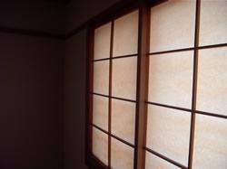 和室は6畳の広さです。